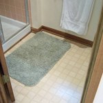Shower Floor Before Remodel