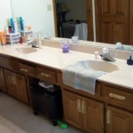 Bathroom Vanity Before Remodel